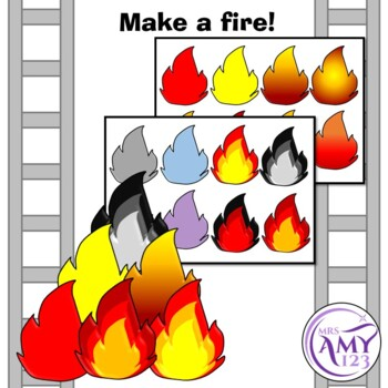 Fire Safety Barrier Games - Great for Fire Prevention Week
