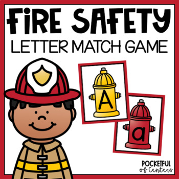 Fire Safety Beginning Sounds Match