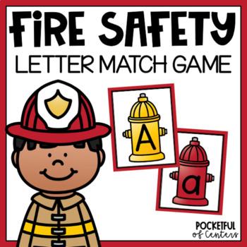 Fire Safety Beginning Sounds Match