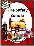 Fire Safety Bundle Math Literacy Special Education Kindergarten Fine Motor