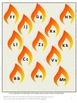 Fire Safety Bundle NO PREP/LOW Prep Math and Literacy Printables