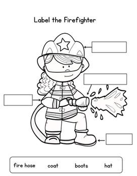 Fire Safety Mini Unit, Craftivity, & Writing Prompts