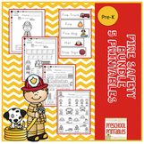 Fire Safety Bundle -5 Printables- 119 pages