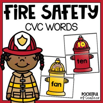 Fire Safety CVC Puzzles