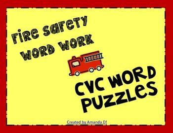 Fire Safety CVC words