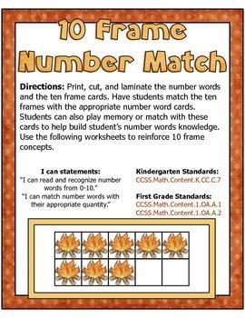 Fire Safety Center ~ 10 Frame Number Match