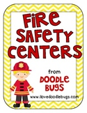 Fire Safety Centers & Activities { Language & Math }