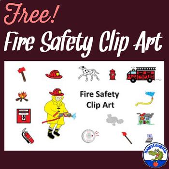Fire Safety Clip Art