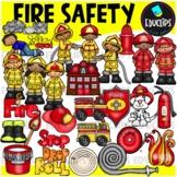 Fire Safety Clip Art Bundle