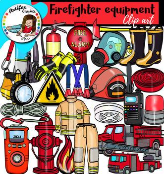Fire Safety Clip Art superbundle