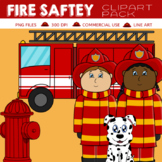 Fire Safety Clipart Pack