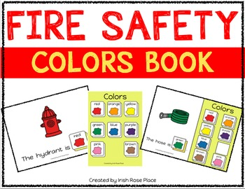 Fire Safety Color Books (Adapted Books)