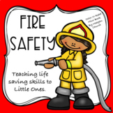 Fire Safety: Color-N-Read Mini Book