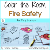 Fire Safety Color the Room