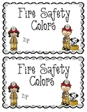 Fire Safety Colors Book