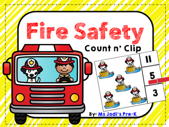 Fire Safety Count n' Clip