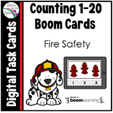 Fire Safety Counting 1 - 20 Boom Cards