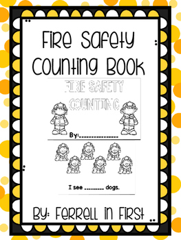 Fire Safety Counting Book