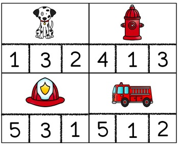Fire Safety Counting Cards