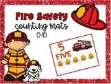 Fire Safety Counting Mats 0-10