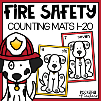 Fire Safety Counting Mats 0-20