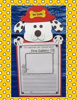 Fire Safety Craft and Flipbook