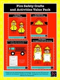 Fire Safety Craft and Activity Value Pack: Firefighters, Truck, Hats