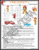 Fire Safety Crossword Puzzle and Word Search Find Activities