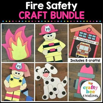 Fire Safety Cut and Paste Set