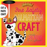 Fire Safety Dalmatian Dog Craft