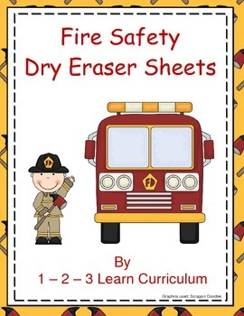 Fire Safety Dry Eraser Sheets