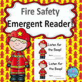 Fire Safety Activities Emergent Reader!