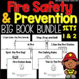 Fire Safety Emergent Reader Bundle for Guided Reading BIG BUNDLE