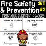 Fire Safety Emergent Reader Bundle for Guided Reading - Set 2