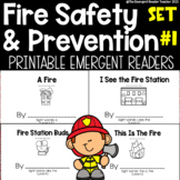 Fire Safety Emergent Reader Bundle for Guided Reading - Set 1