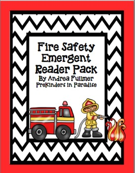Fire Safety Emergent Reader Pack