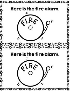 Fire Safety Emergent Readers
