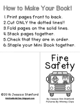 Fire Safety {Emergent Readers}