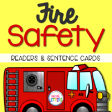 Fire Safety Emergent Readers and Sorting Cards
