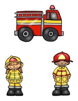 Fire Safety File Folder Game