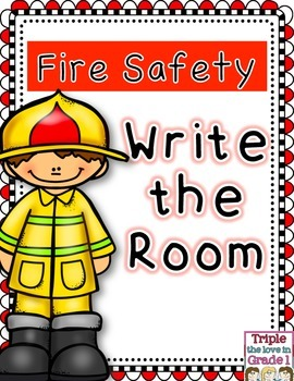 Fire Safety Fire Prevention Write the Room