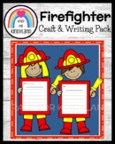 Firefighter Craft and Writing (Community Helpers)