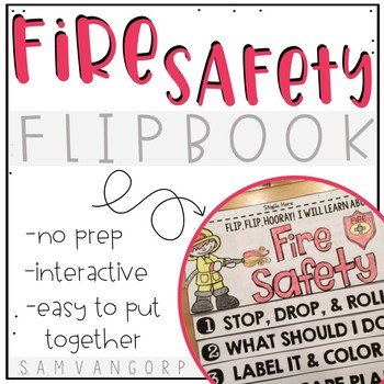 Fire Safety Flip Book (No Fuss, No Prep!)