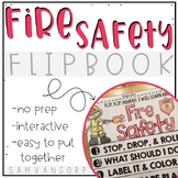 Fire Safety Flip Book (No Fuss, No Prep!)