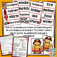Fire Safety Week Flip Book - Fire Vocabulary Cards + 'Fire Safe' Brag Tag