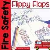 Fire Safety Week Activities Interactive Notebook Lapbook