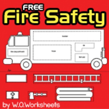 Fire Safety Free by WOWorksheets