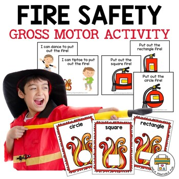 Fire Safety Gross Motor Activity