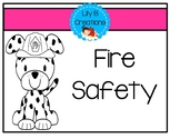 Fire Safety Hat, Badge, And Tips!