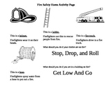 Fire Safety Home Activity Worksheet